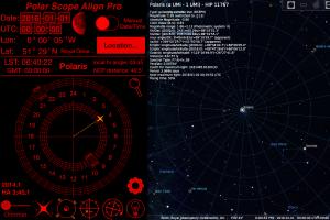 Polar Scope Align vs Stellarium (click to enlarge)