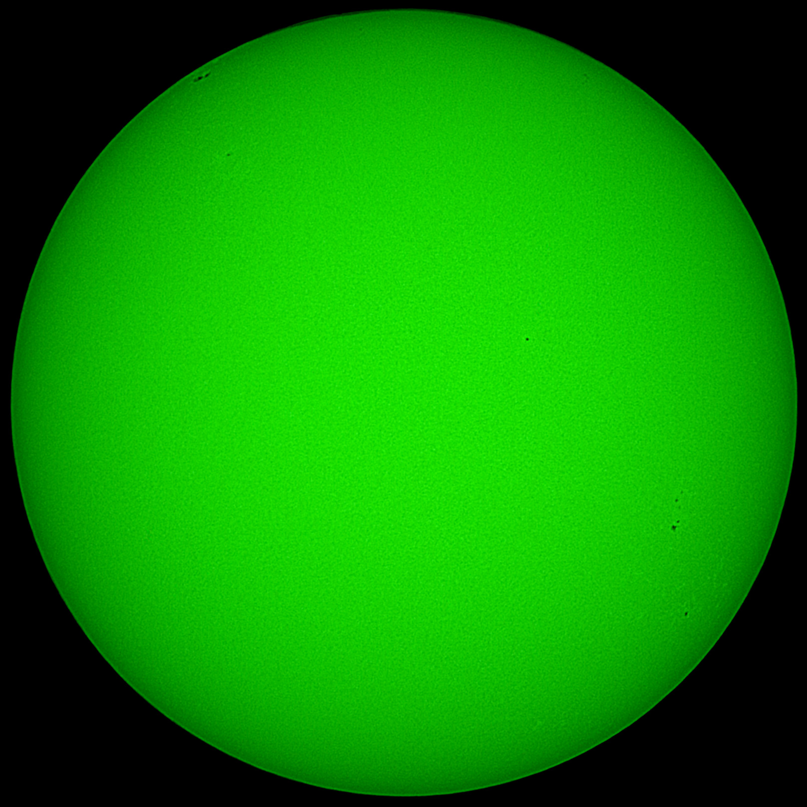 Solar Continuum ISO200 1/50s