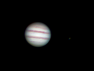 Astro delta « planetary shootout jupiter with refractor