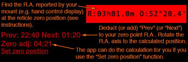 Astro Blog Delta « Polar Scope Align for iOS «